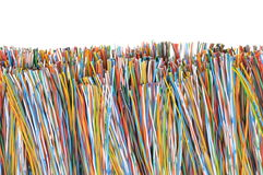 Telecommunication cables Royalty Free Stock Images