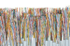 Telecommunication cables Stock Photos