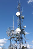Telecommunication & cell towers technology. Stock Photos