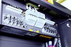 Telecommunication equipment Stock Images