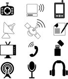 Telecommunication Icons Royalty Free Stock Images