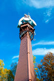 Telecommunication and lookout tower Royalty Free Stock Photography