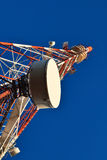 Telecommunication mast. Stock Photo