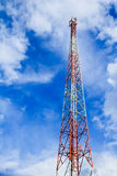 Telecommunication mast Royalty Free Stock Images