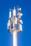 Telecommunication mast Royalty Free Stock Photo