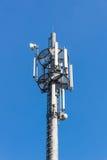 Telecommunication mast Stock Images