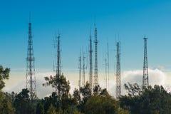 Telecommunication mast Stock Photography