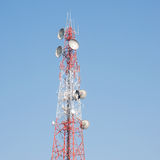 Telecommunication mast Stock Photo