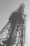 Telecommunication mast TV antenna Stock Images