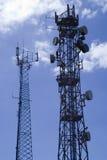Telecommunication masts2 Royalty Free Stock Photography
