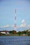 Telecommunication Mobile phone pole royalty free stock images