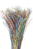 Telecommunication network cables Royalty Free Stock Image