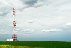 Telecommunication Pillar Royalty Free Stock Image