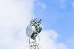Telecommunication post Royalty Free Stock Photos
