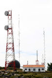 Telecommunication and radar, Foia, Portugal Stock Images