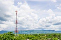 Telecommunication Radio Antenna. Royalty Free Stock Photos