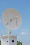 Telecommunication Satellites. Station in Thailand Stock Image
