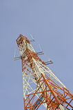 Telecommunication signal tower Stock Photo
