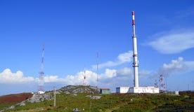 Telecommunication station Stock Images
