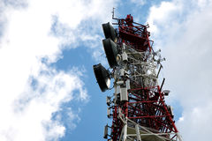 Telecommunication, Telecommunications Tower Stock Images