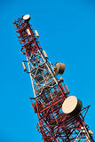 Telecommunication tower. Royalty Free Stock Image