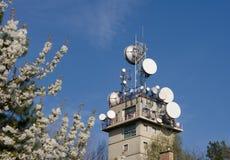 Telecommunication Tower Royalty Free Stock Image