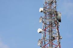 Telecommunication  tower Stock Image