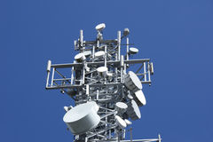 Telecommunication Tower 3 Royalty Free Stock Images