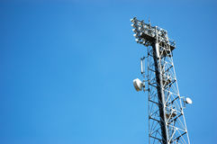 Telecommunication Tower Royalty Free Stock Images
