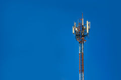 Telecommunication tower Antenna. And communications Royalty Free Stock Images
