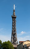 Telecommunication tower in Lyon Stock Photography