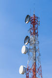 Telecommunication tower. Stock Photography