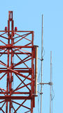 Telecommunication tower . Stock Images