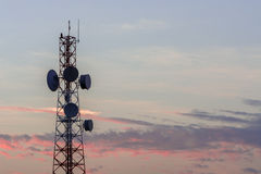 Telecommunication tower Stock Photography