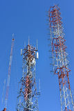 Telecommunication tower Royalty Free Stock Photography