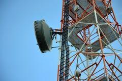 Telecommunication tower Royalty Free Stock Photo