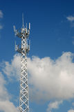 Telecommunication tower Royalty Free Stock Photo