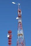 Telecommunication towers Royalty Free Stock Image