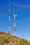 Telecommunication Towers Royalty Free Stock Photos