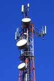 Telecommunication transmitter Stock Photo