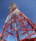 Telecommunication transmitter Stock Photography