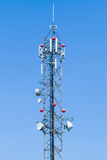 Telecommunications antenna Stock Image