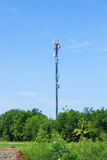 Telecommunications antenna. Royalty Free Stock Images