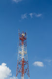 Telecommunications Antenna Tower Royalty Free Stock Image
