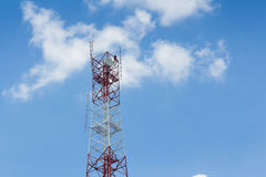 Telecommunications Antenna Tower Royalty Free Stock Photography