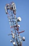 Telecommunications antennas Royalty Free Stock Photo