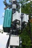Telecommunications box Stock Photography