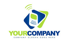Telecommunications Logo Royalty Free Stock Photography