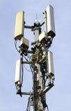 Telecommunications mast Stock Photos