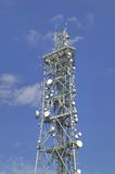 Telecommunications mast. Stock Images